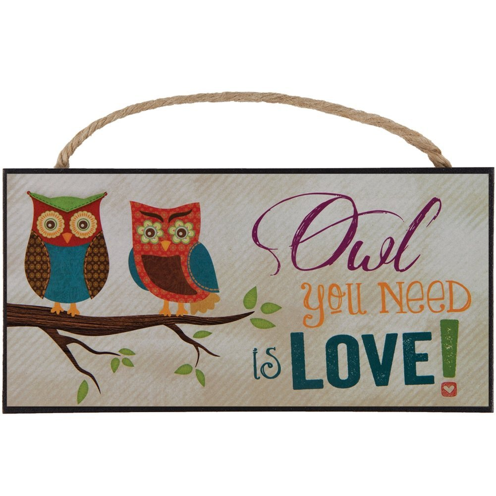 Owl you need is love sign #giftideas