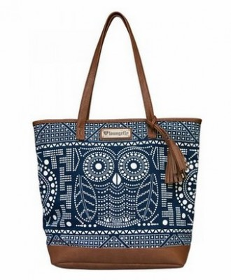 Owl Tote from Loungefly #NavyWhite #GiftIdea #LadiesGift