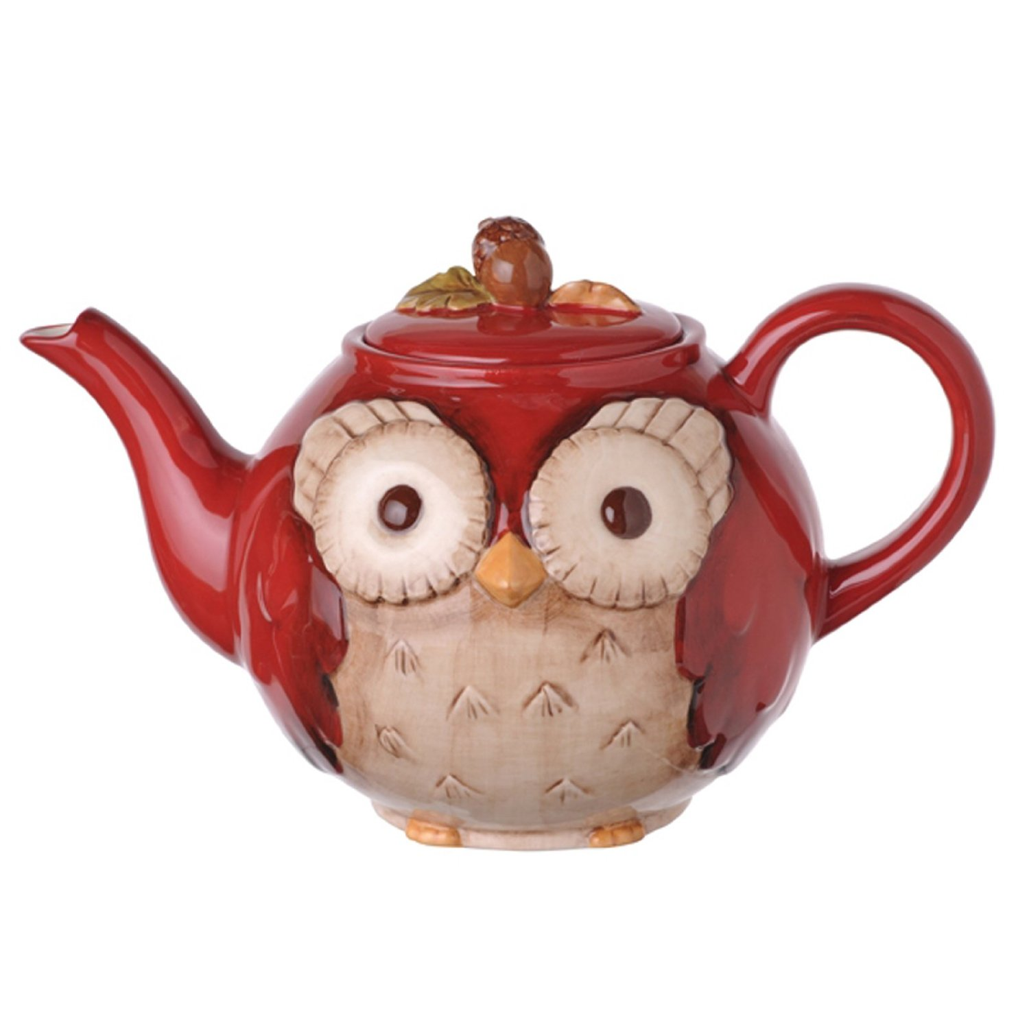 Owl Teapot that is Microwave and Dishwaser Safe!