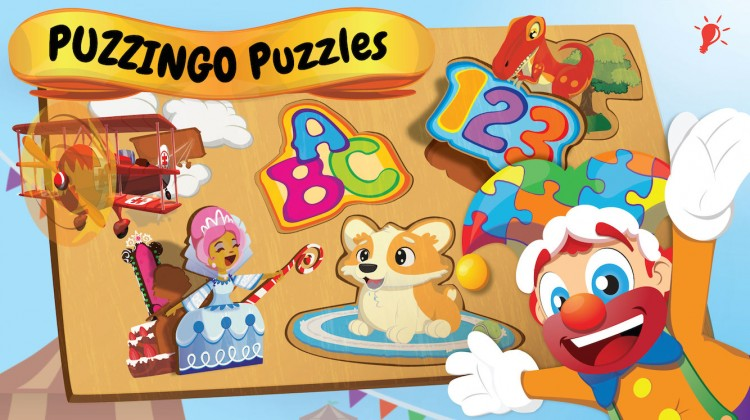 Puzzingo is a Fun Educational Puzzle App for Kids