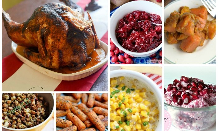 Monday Mealplan:  Thanksgiving #Recipes #Menu