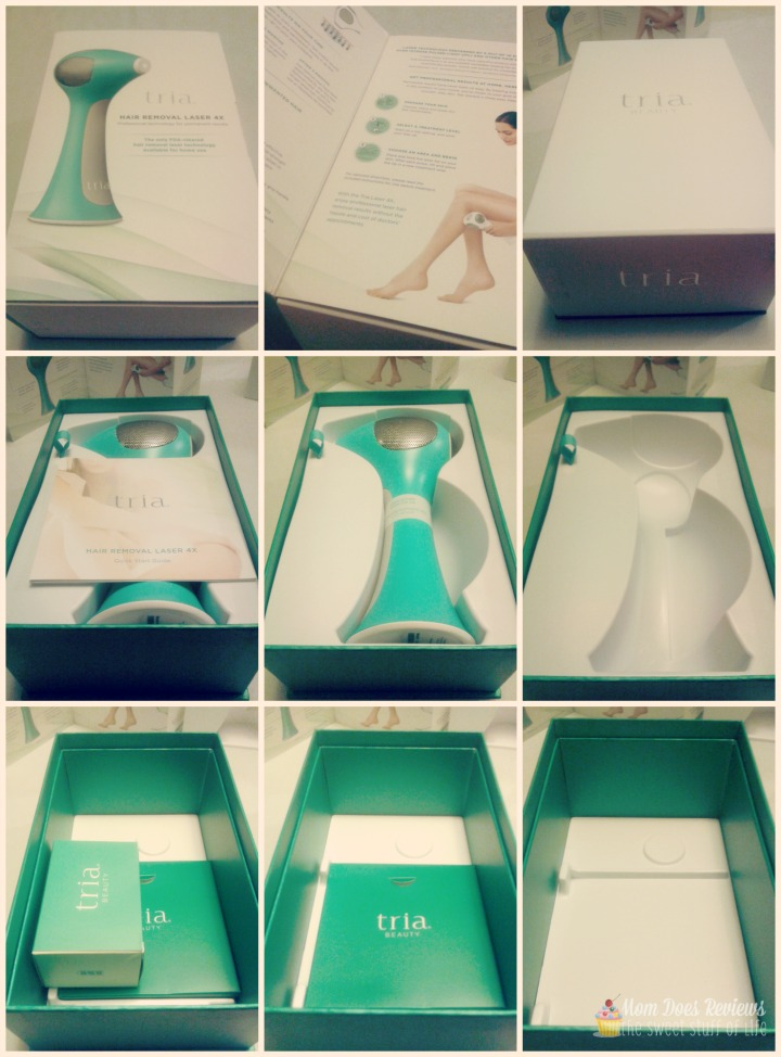 tria hair removal instructions