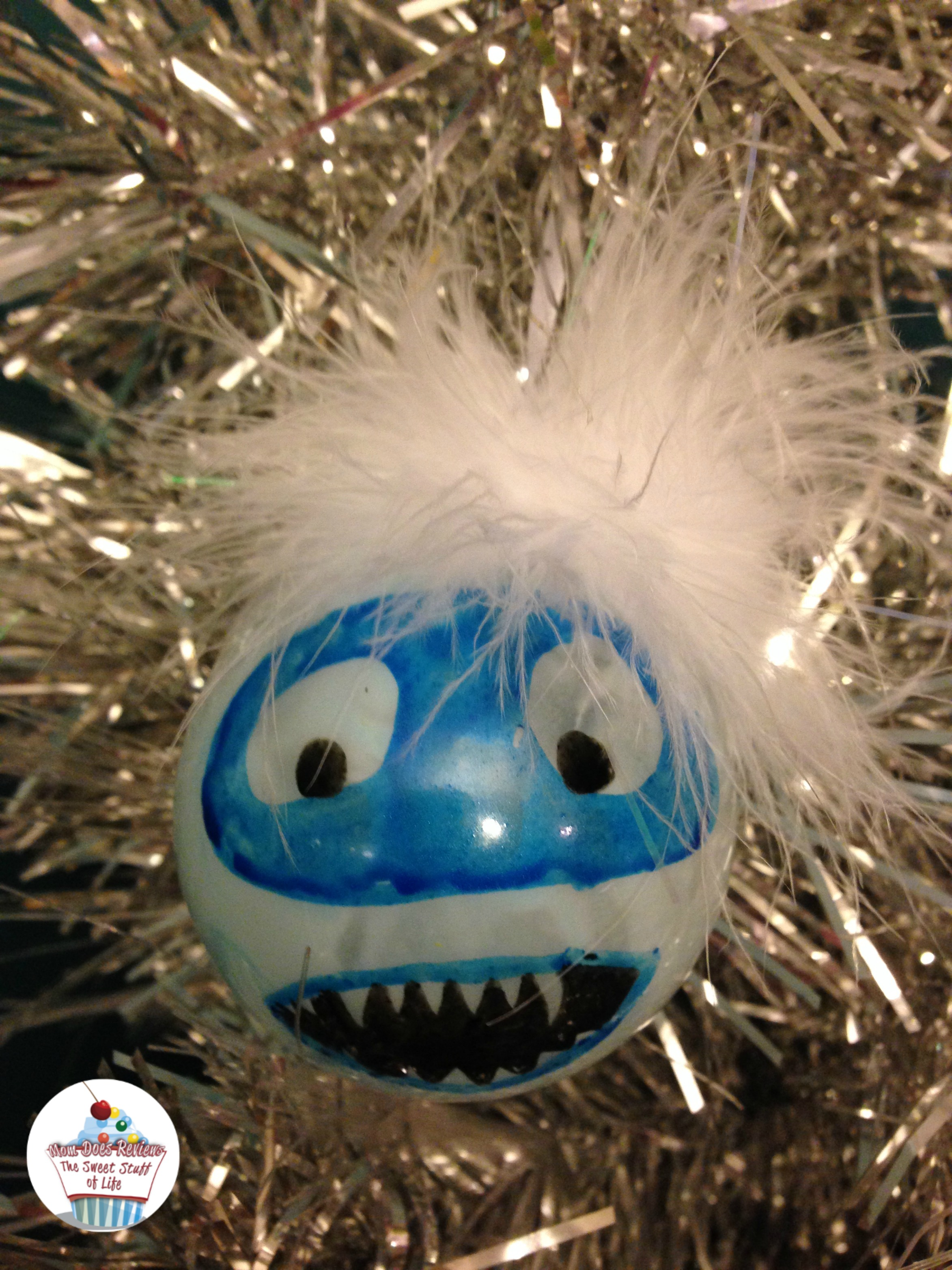Diy abominable snowman grinch ornaments christmascrafts for Abominable snowman christmas light decoration
