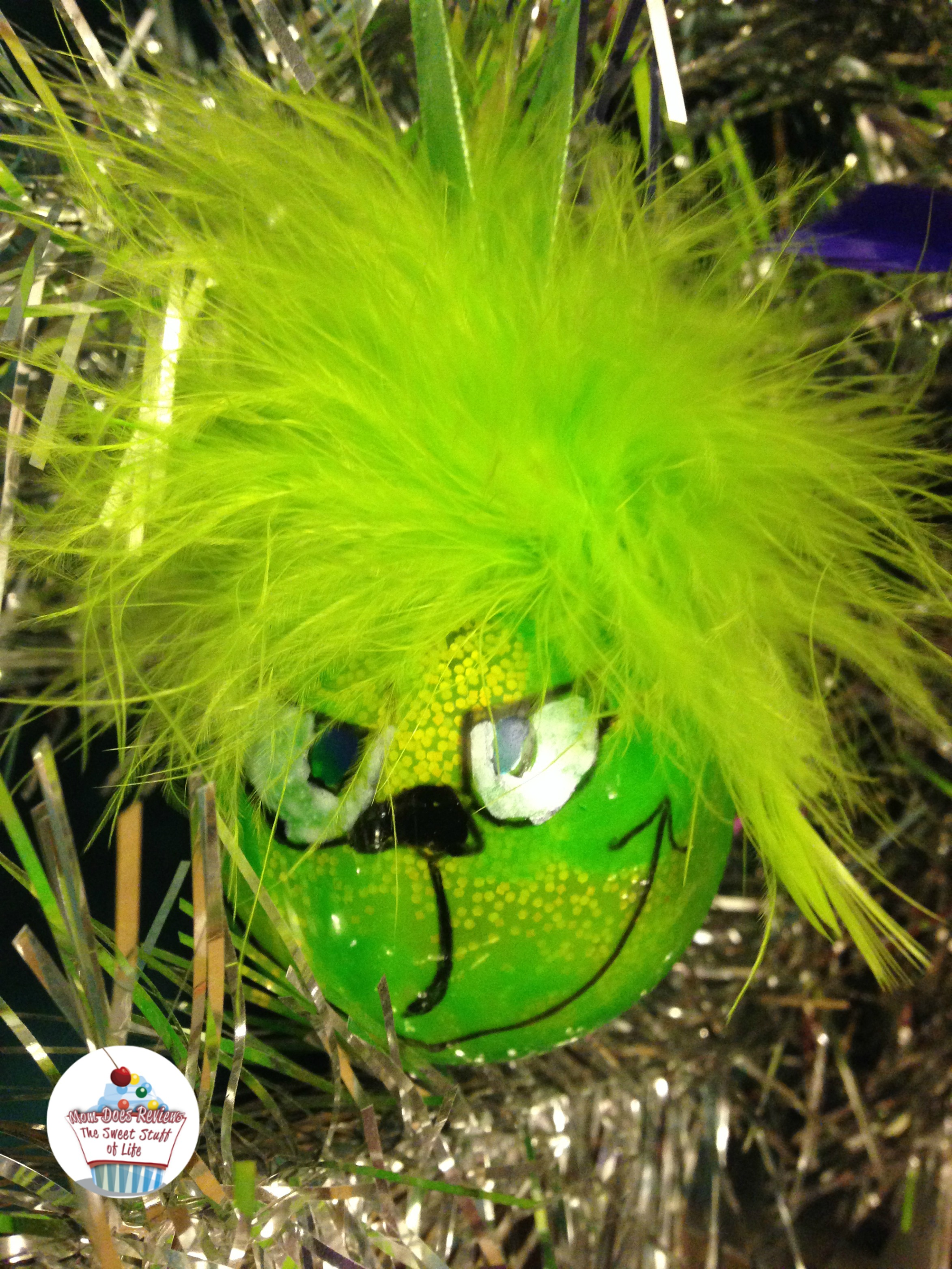 Grinch-Inspired Crafts - DIY Grinch Ornaments
