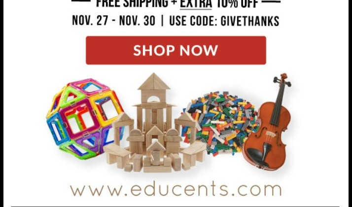 HUGE Deals for #BlackFriday #Cybermonday at #Educents #ad