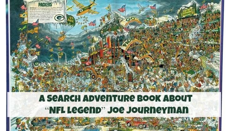 NFL's Joe Journeyman Volume 1 Hand Drawn Children's Book #Review