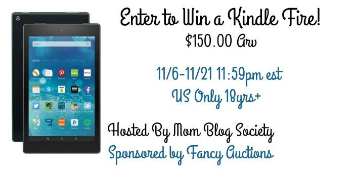 #Win a Kindle Fire HD 8 HD, Wi-Fi, 8 GB US ends 11/21