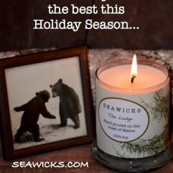 seawicks lodge candle