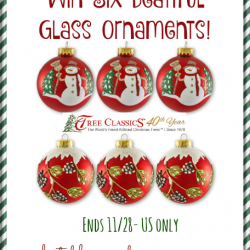 tree classics ornaments giveaway