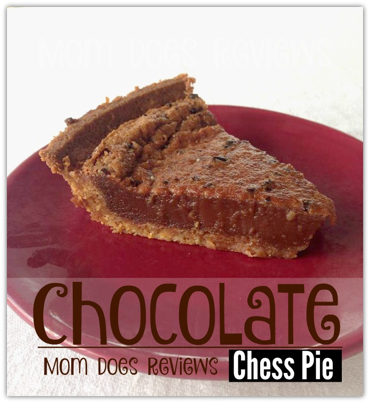 Chocolate Chess Pie #ChristmasSweets