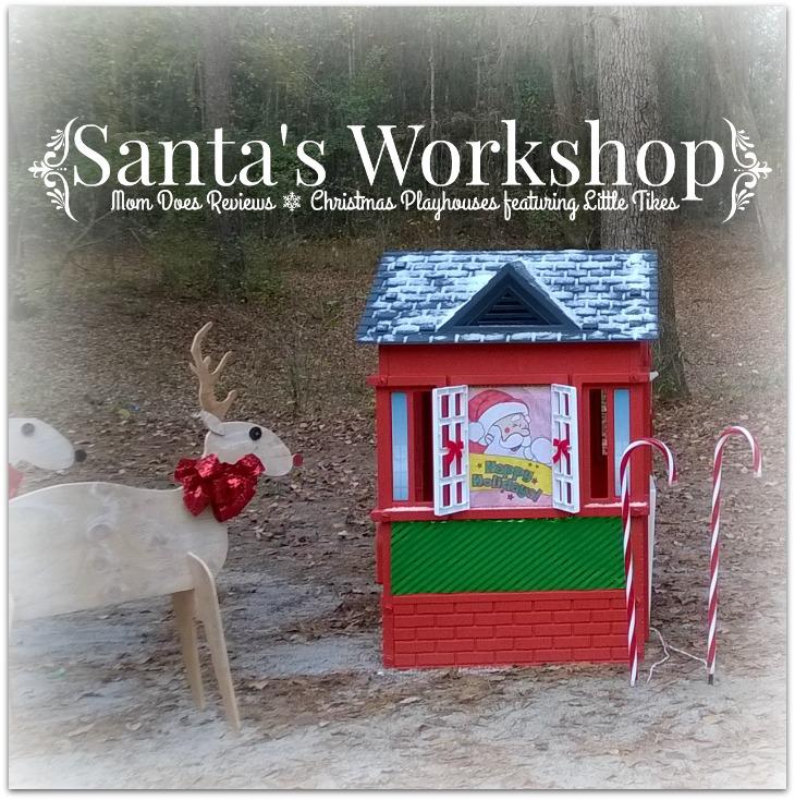Diy Santa S Workshop Littletikes Christmas