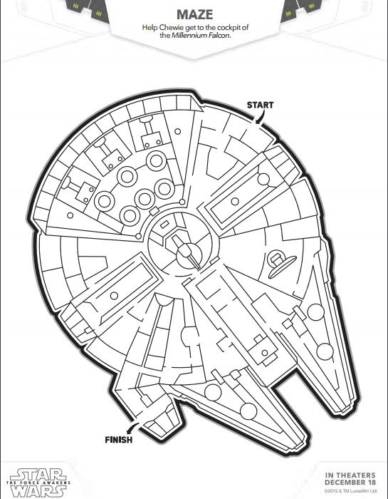 Millenium Falcon Maze