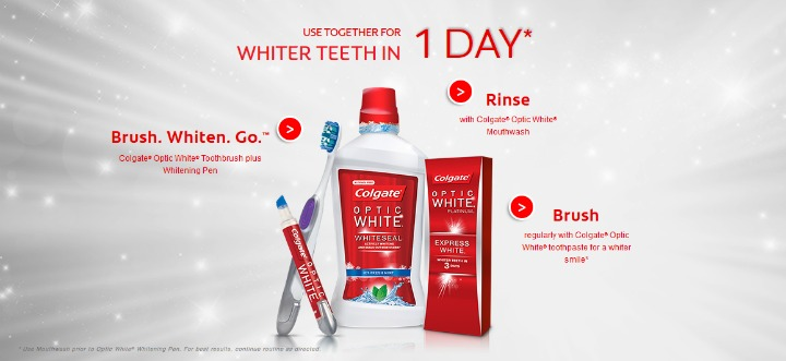 Colgate Optic White Toothbrush Whitening Pen Mdrstocking Mdrchristmas15 Mom Does Reviews