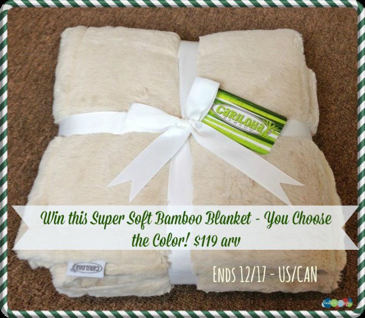 cariloha blanket giveaway
