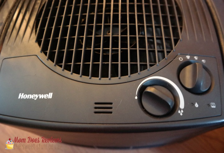honeywell humid close up
