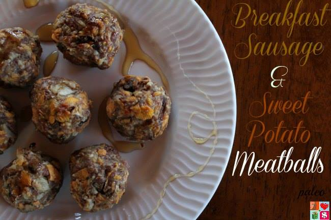 sausage sweet potato meatballs