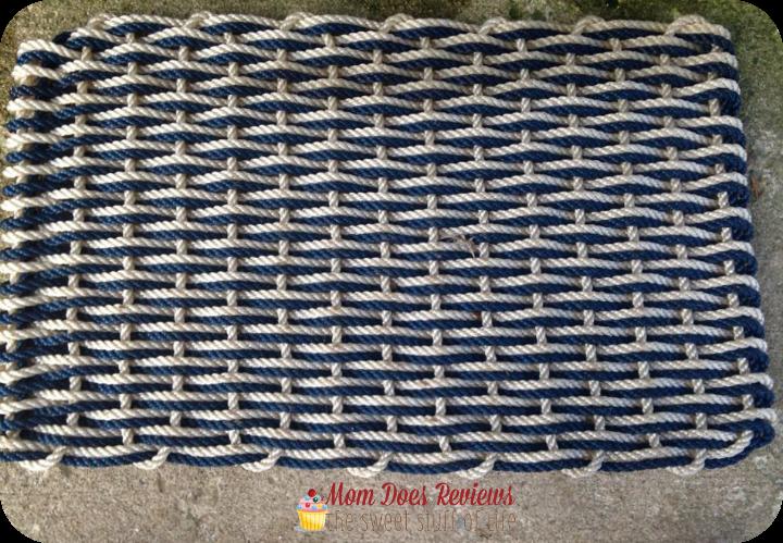 Nautical Door Mat. The Rope Co 1