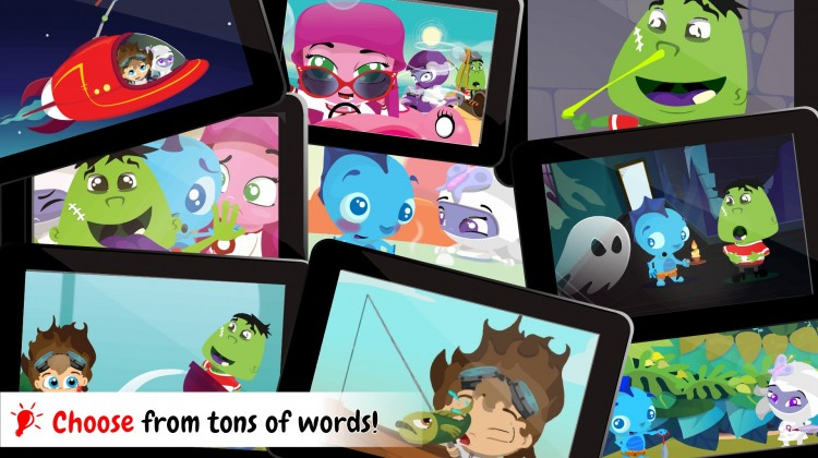 Wonster Words Spelling and Phonics Learning App Game for iOS and Android