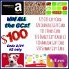 $100 gc prize 6 types