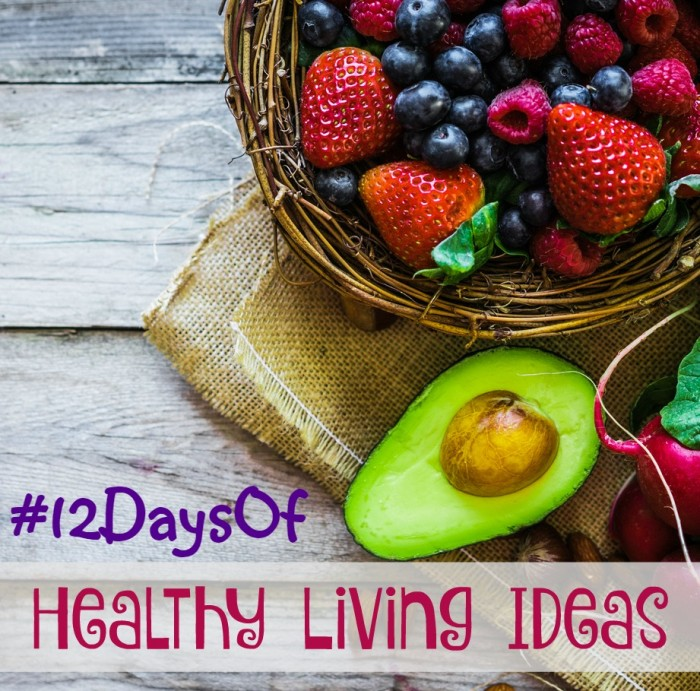 12daysof healthy living