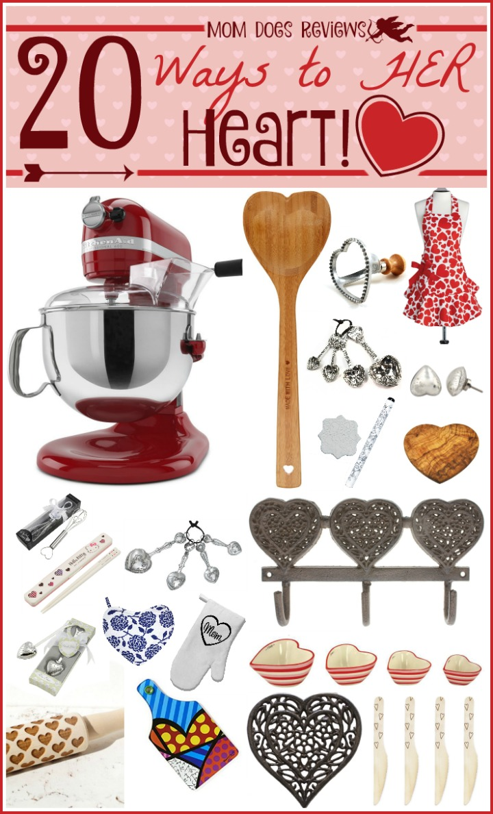 20 Valentine's Day Gifts to her heart for the Home Cook