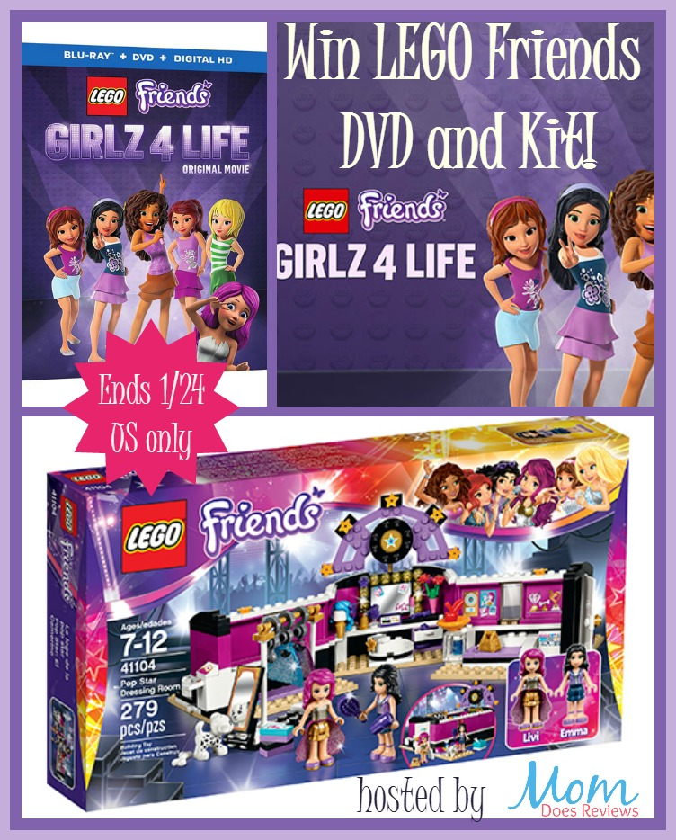 Lego Friends Girlz 4 Life Giveaway Ends 124 Us Only