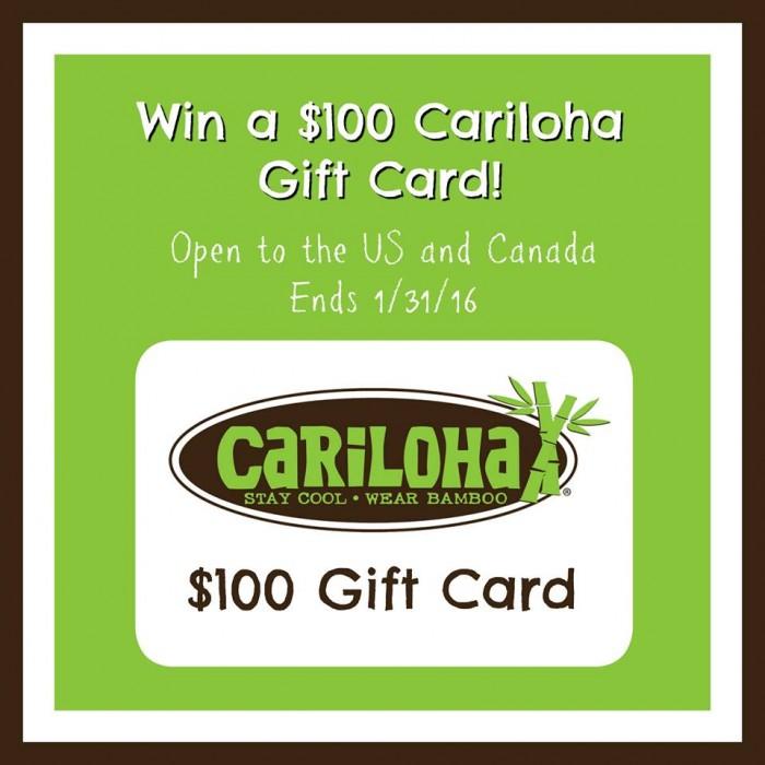 cariloha $100 gc win 1 31