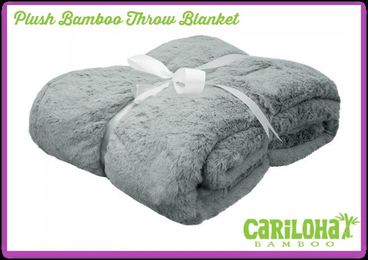 cariloha blanket ribbon plush