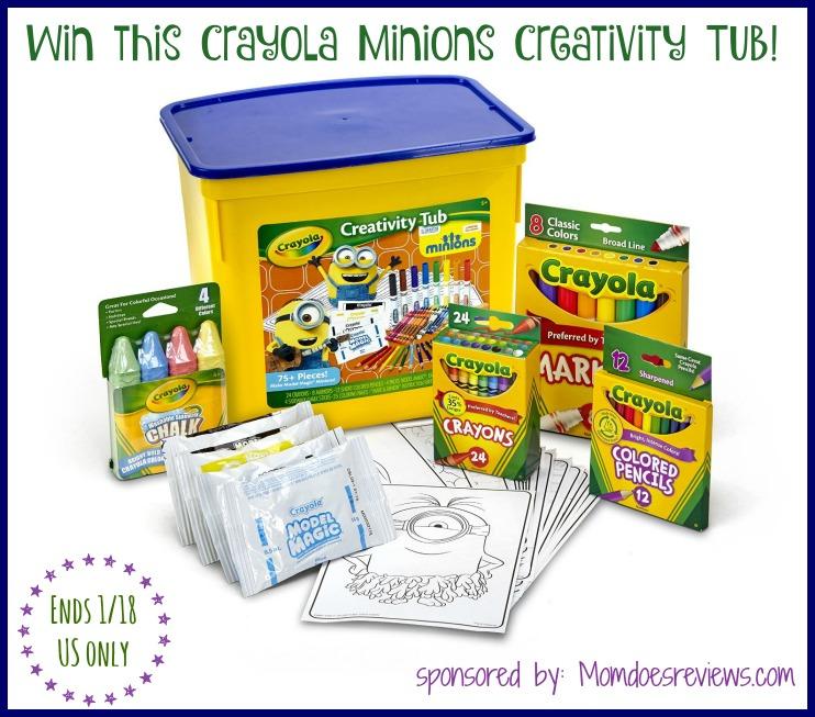 crayola minions win