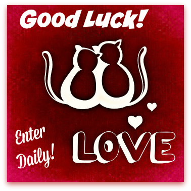 good luck cat love