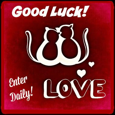 good luck cat love