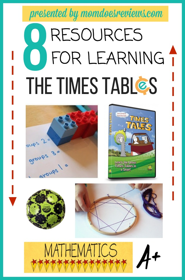 learning times tables mdr