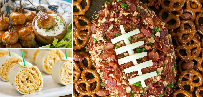 25 BIG Game Party Foods for Sunday!