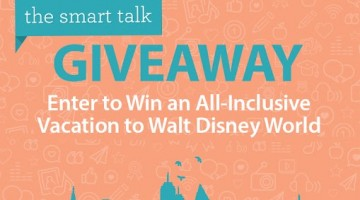 Enter to #Win a Disney World Vacation! #TheSmartTalk