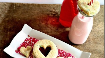 Soft Sugar Cookies with Cotton Candy Punch {Day 11} #12Daysof Valentine's