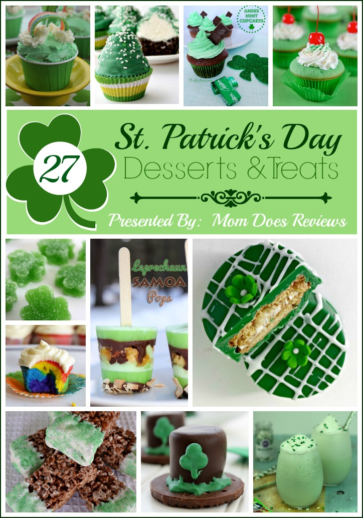 St. Patrick's Day Desserts & Treat Collection 2016