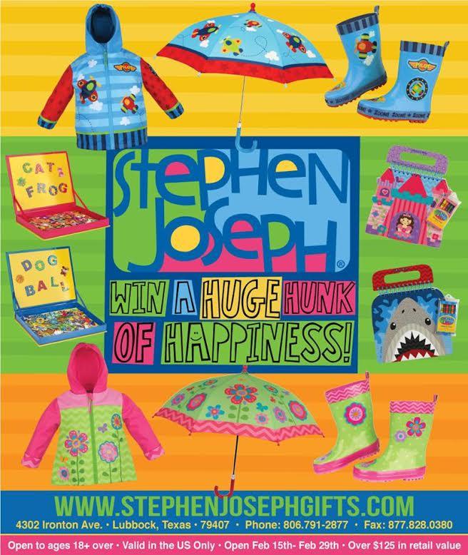 stephen joseph prize pack