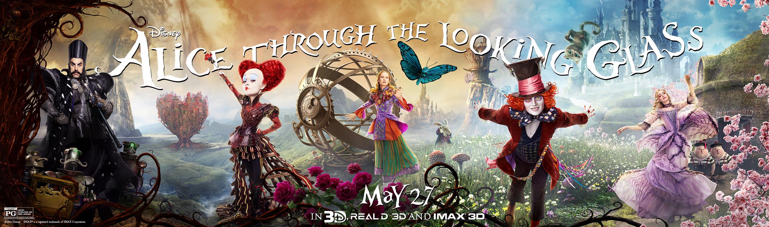 Movies Alice In Wonderland Through The Looking Glass
