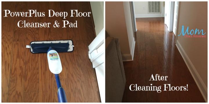 Bona Powerplus Hardwood Floor Deep Cleaner And Microfiber