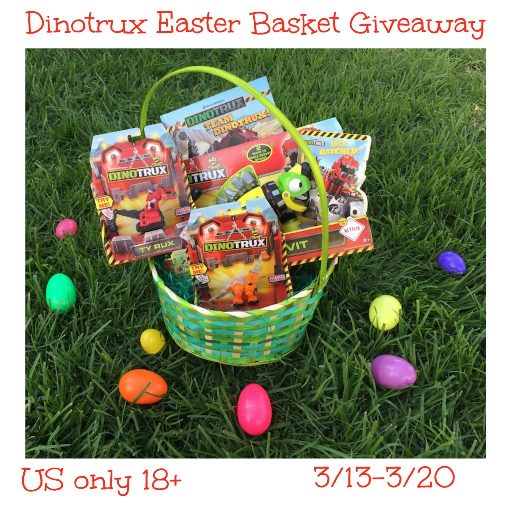 Win this dinotrux easter basket 2 winners us ends 320 dinotrux easter basket giveaway 1024x1024 negle Choice Image