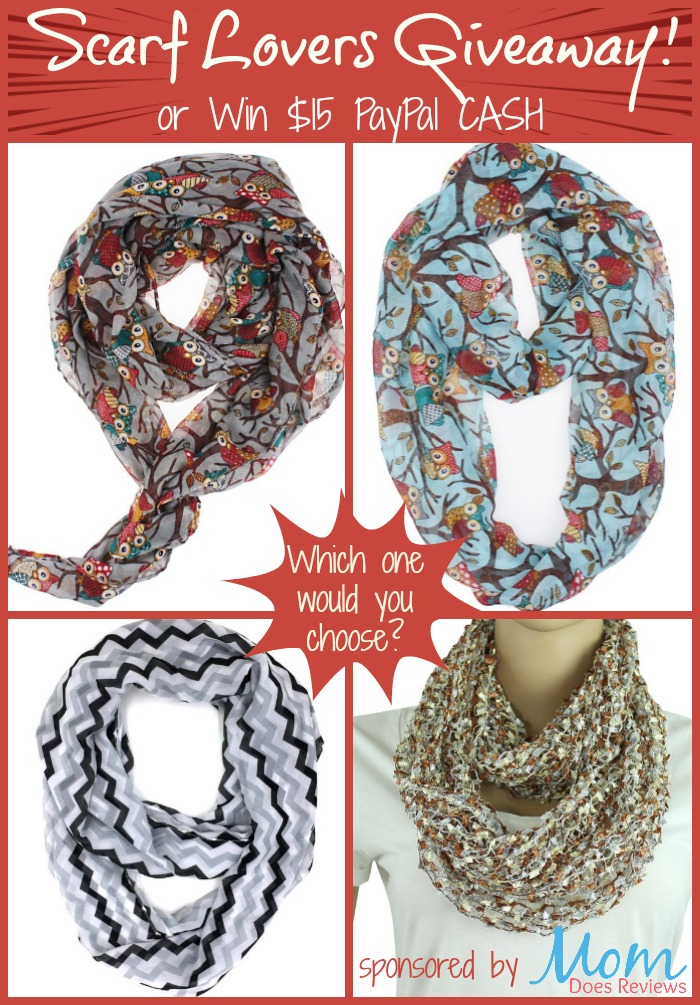 Scarf lovers giveaway!