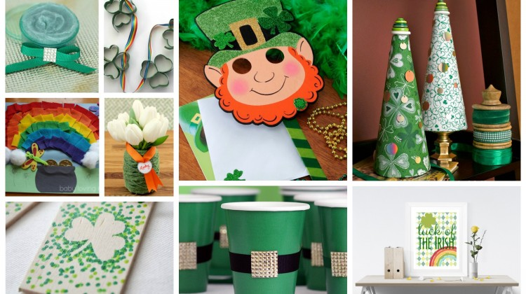 40 St. Patrick's Day #Crafts for Everyone!