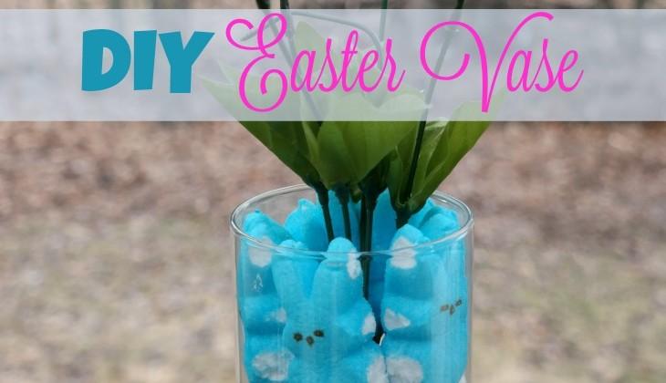 #12Daysof Easter #Recipes & #Crafts {Day 12} DIY Easter Vase