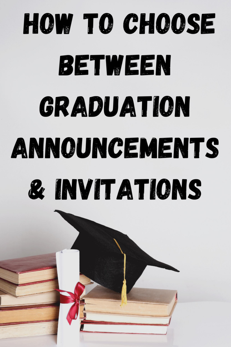 How to Choose Between Graduation Announcements & Invitations