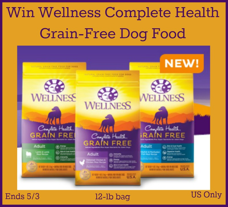 Wellness Complete Health Grain-Free Giveaway button 2