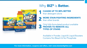 Why BIZ is Better for Your Dirtiest Laundry #ad