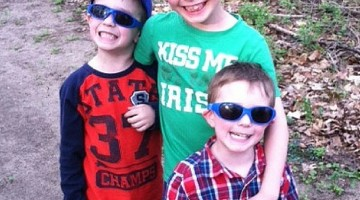 Keep the Kid's Eyes Safe & Stylish with Real Kids Shades #Review #MDRadventures