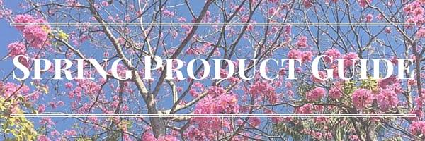spring product guide