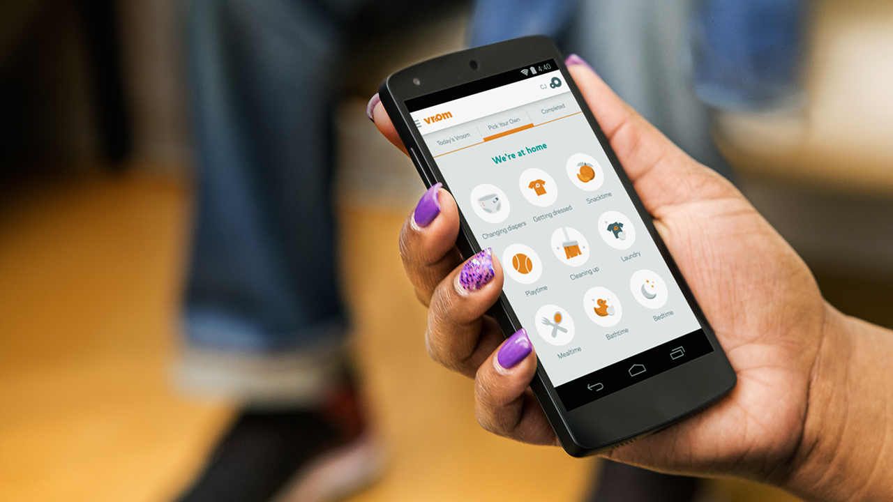 Vroom-Smartphone-App