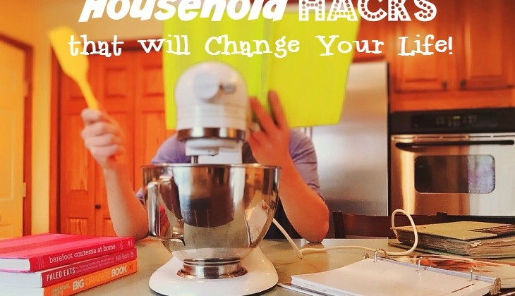 Seriously Clever Household Hacks! #Infographic